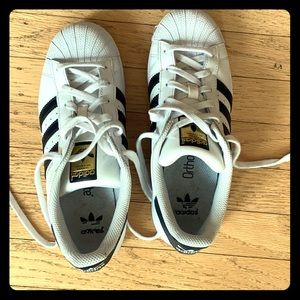 Adidas shell toe sneakers